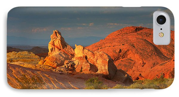 Valley Of Fire - Picturesque Desert Phone Case by Christine Till