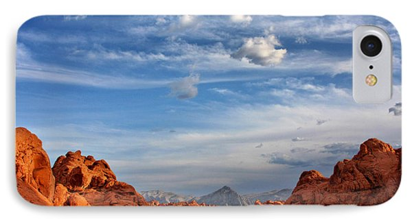 Valley Of Fire Nevada - A Must-see For Desert Lovers Phone Case by Christine Till