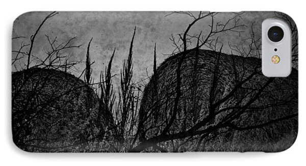 Valley Of Sticks Phone Case by Empty Wall