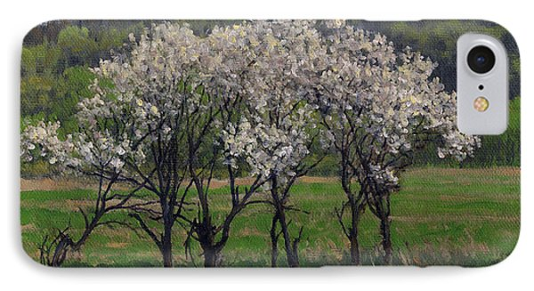 Valley Plum Thicket IPhone Case by Bruce Morrison
