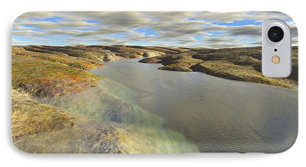 Valley Stream IPhone Case by Mark Greenberg