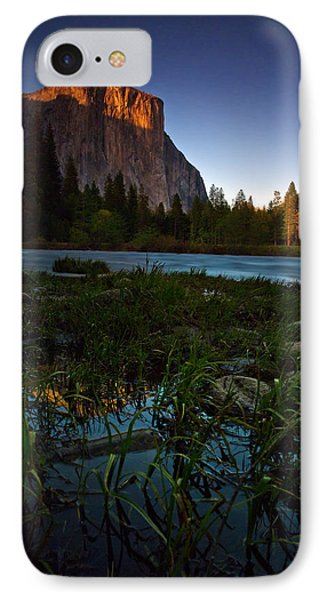 Valley View At Sunset IPhone Case