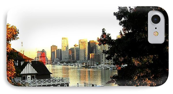 Vancouver At Sundown Phone Case by Will Borden
