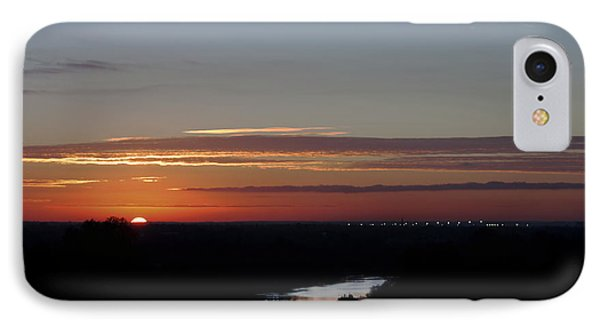 IPhone Case featuring the photograph Vanishing Sunset by Maj Seda