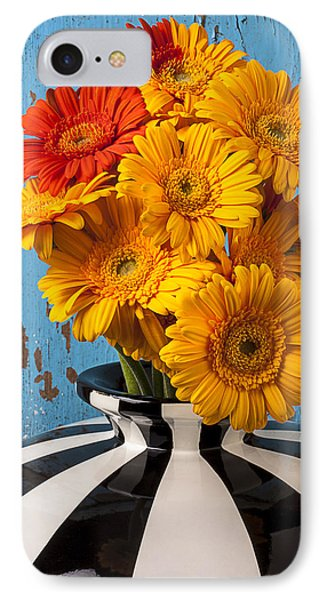 Vase With Gerbera Daisies  Phone Case by Garry Gay