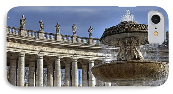 Vatican - St. Peter's Square IPhone Case by Joana Kruse