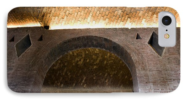 Vaulted Brick Arches IPhone Case by Lynn Palmer