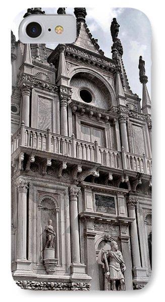 Venetian Architecture Iv Phone Case by Ellen Heaverlo