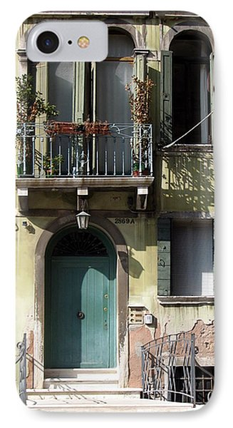 IPhone Case featuring the photograph Venetian Doorway by Carla Parris