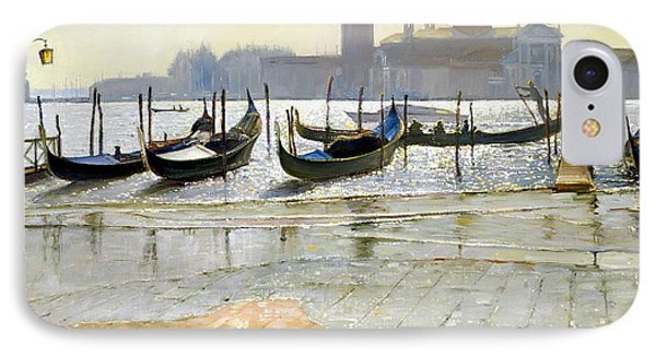 Venice At Dawn Phone Case by Timothy Easton