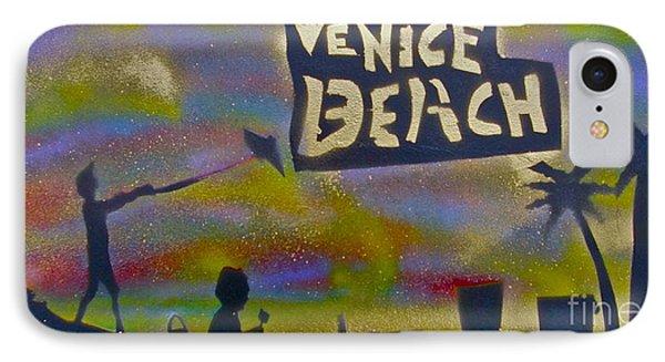 Venice Beach Life Phone Case by Tony B Conscious