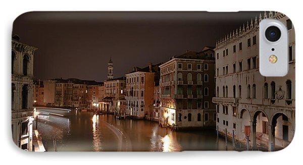 Venice By Night Phone Case by Joana Kruse