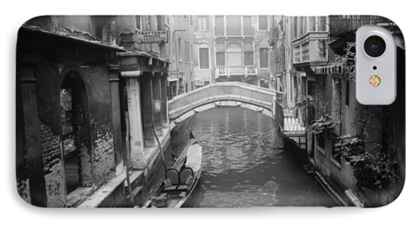 Venice Canal IPhone Case by Emanuel Tanjala