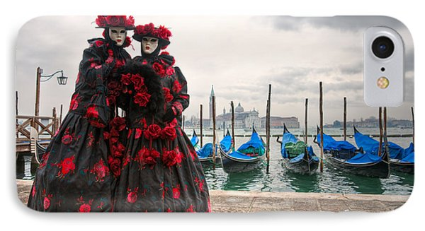 IPhone Case featuring the photograph Venice Carnival Mask by Luciano Mortula