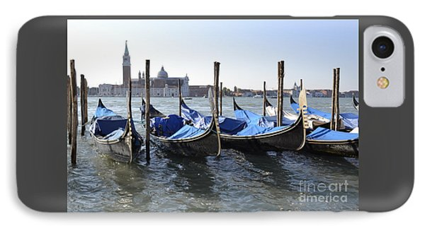 IPhone Case featuring the photograph Venice Gondolas by Rebecca Margraf