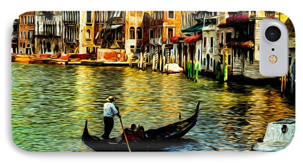 Venice Gondolas IPhone Case by Sabine Jacobs
