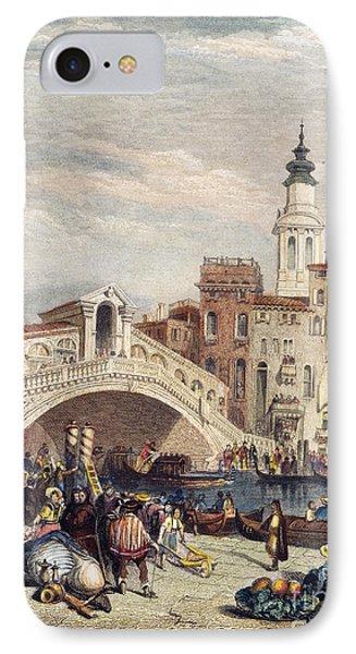 Venice: Rialto, 1833 Phone Case by Granger