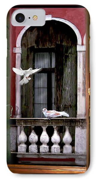 Venice Window IPhone Case by Diana Haronis