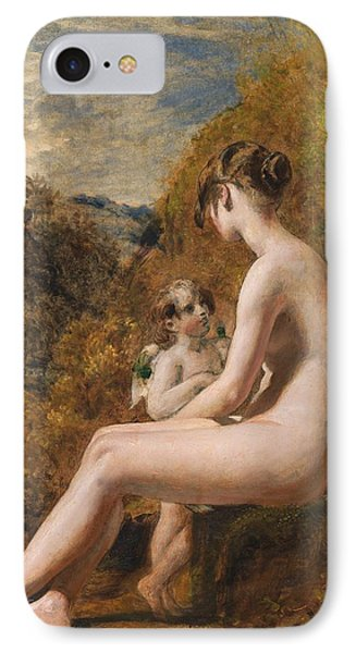Venus And Cupid  Phone Case by William Etty