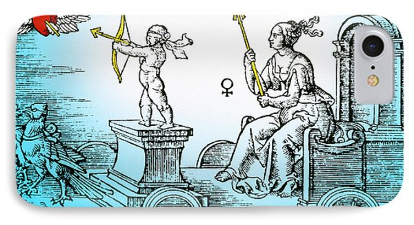 Venus, Roman Goddess Of Love Phone Case by Photo Researchers
