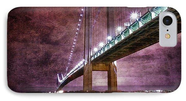 Verrazano-narrows Bridge03 Phone Case by Svetlana Sewell