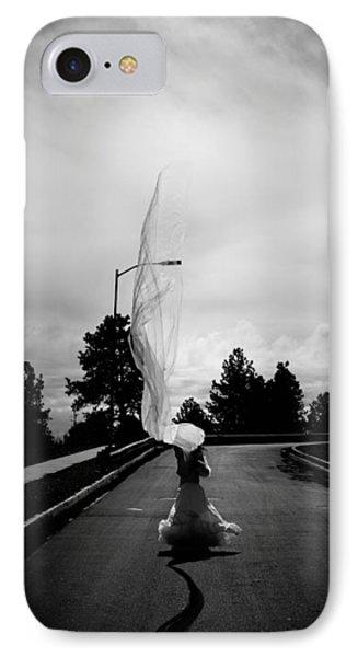 Vertical Cloth Wind  Phone Case by Scott Sawyer