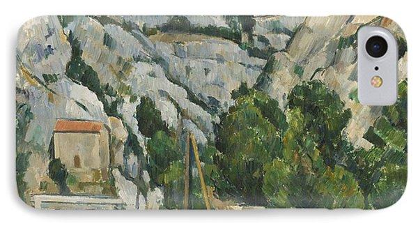 Viaduct At L'estaque Phone Case by Paul Cezanne