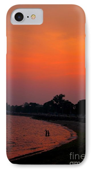 Vibes Beach IPhone Case by Jesse Ciazza