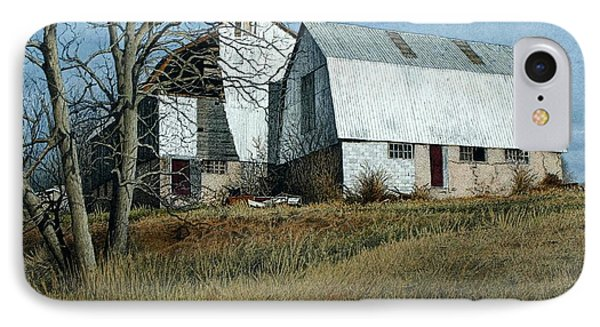 Victoria County Road Barn IPhone Case