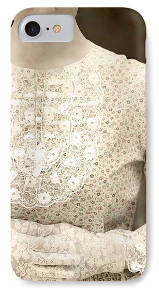 Victorian Dress Phone Case by Joana Kruse