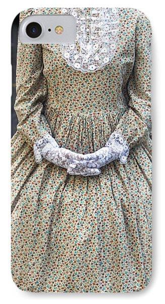 Victorian Lady Phone Case by Joana Kruse