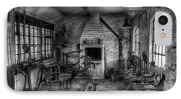 Victorian Locksmith's Workshop Phone Case by Adrian Evans