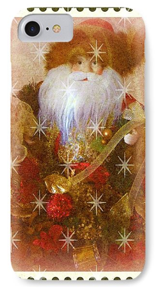 Victorian Santa IPhone Case by Michelle Frizzell-Thompson