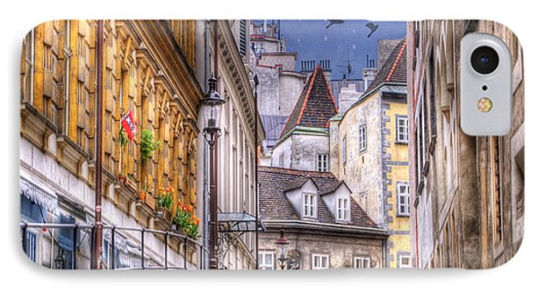 Vienna Cobblestone Alleys And Forgotten Streets IPhone Case by Juli Scalzi