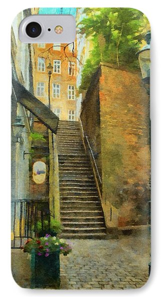 Viennese Side Street Phone Case by Jeff Kolker