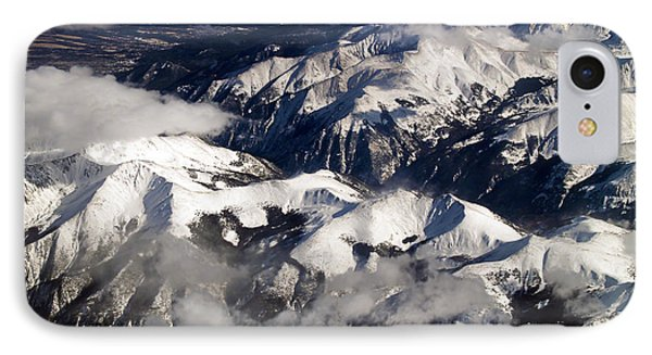 View From Above Iv IPhone Case by Patricia Griffin Brett
