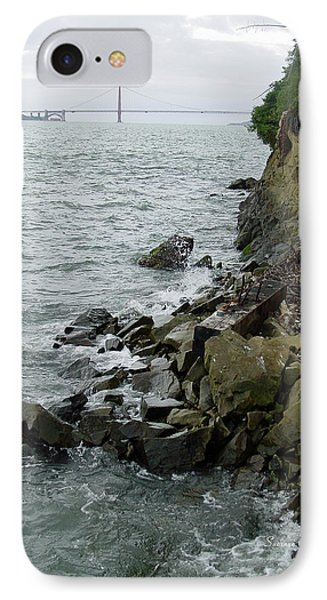 View From Alcatraz II IPhone Case by Suzanne Gaff