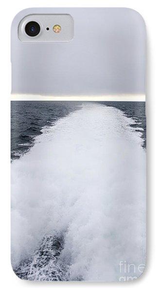 View From Back Of Ferry, Strait Of Juan De Fuca, Washington Phone Case by Paul Edmondson