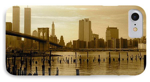 View From Brooklyn Bridge Park IPhone Case by Mark Gilman