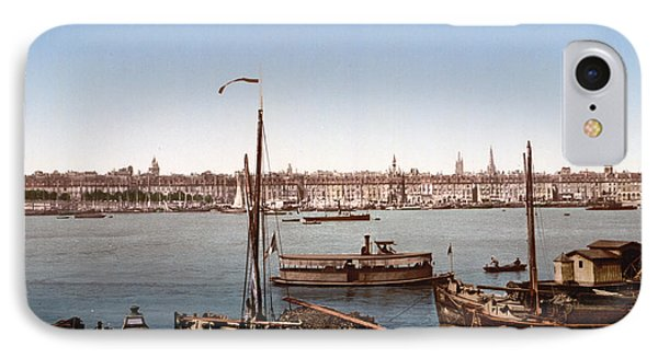 View From The Bastille - Bordeaux - France Ca 1900 Phone Case by International  Images