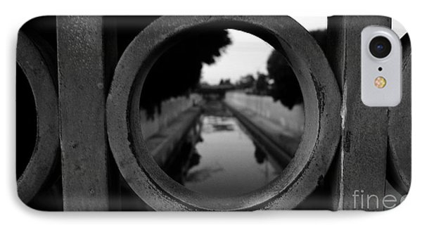 IPhone Case featuring the photograph View From The Bridge by Nina Prommer