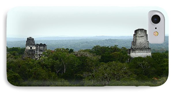 View From The Top Of The World IPhone Case by Kathy McClure