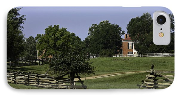 View Of Appomattox Courthouse 1 Phone Case by Teresa Mucha