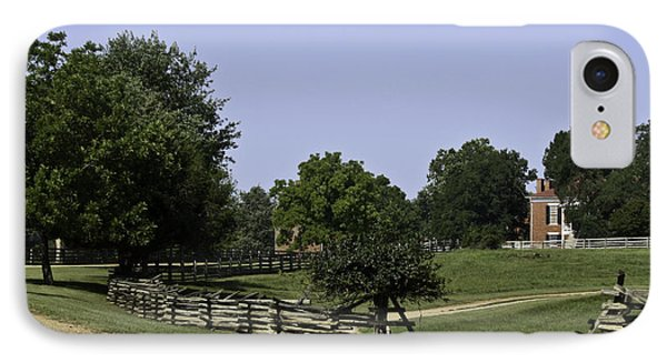 View Of Appomattox Courthouse 2 Phone Case by Teresa Mucha