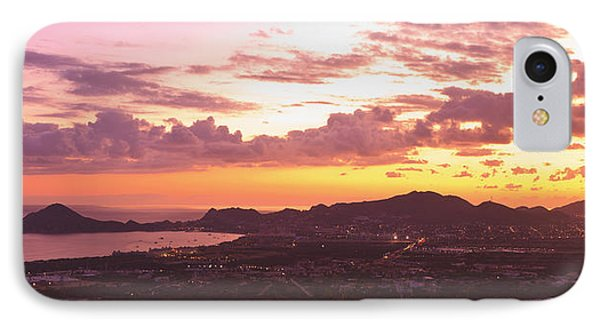 View Of Cabo San Lucas And Tip Of Baja Phone Case by Stuart Westmorland