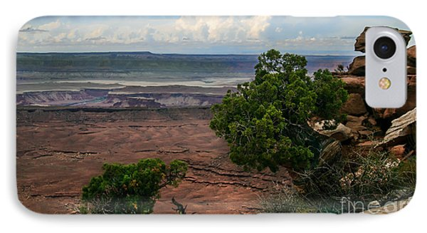 View Of Canyonland Phone Case by Robert Bales