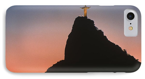 View Of Christ The Redeemer  IPhone Case by Anonymous