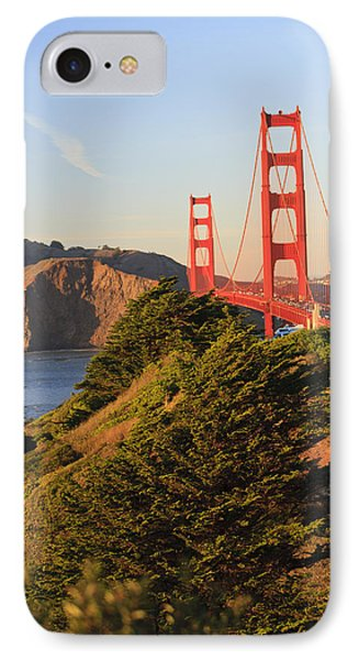 View Of Golden Gate Bridge San Phone Case by Stuart Westmorland