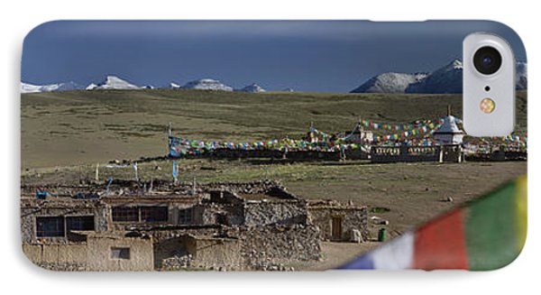 View Of Mount Kailash From Chiu Phone Case by Phil Borges