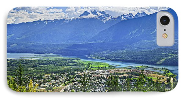 View Of Revelstoke In British Columbia Phone Case by Elena Elisseeva